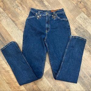 Vintage Lawman High Rise Slim Fit Jeans
